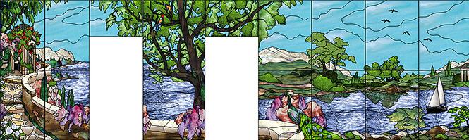 CadRam Resin Mural